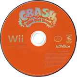 Crash: Mind Over Mutant Wii disc (RC8E7D)