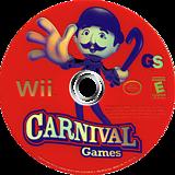 Carnival Games Wii disc (RCGE54)