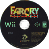 Far Cry: Vengeance Wii disc (RCVE41)