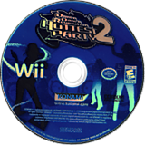 Dance Dance Revolution: Hottest Party 2 Wii disc (RD4EA4)