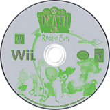 Death Jr.: Root of Evil Wii disc (RDJE4F)