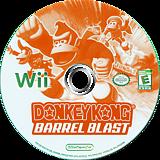 Donkey Kong: Barrel Blast Wii disc (RDKE01)