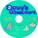 Dewy's Adventure Wii disc (RDREA4)