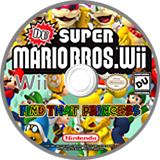DU Super Mario Bros. : Find That Princess CUSTOM disc (RDUE01)