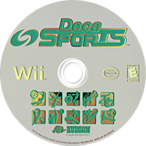 Deca Sports Wii disc (RDXE18)