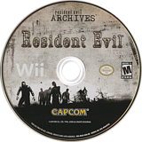 Resident Evil Archives: Resident Evil Wii disc (RE4E08)
