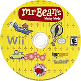 Mr. Bean's Wacky World Wii disc (REBE4Z)