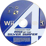 Fantastic Four: Rise of the Silver Surfer Wii disc (RF2E54)
