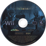 Spider-Man: Friend or Foe Wii disc (RFOE52)