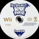 FaceBreaker K.O. Party Wii disc (RFQE69)