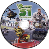 Planet 51: The Game Wii disc (RGAE8P)