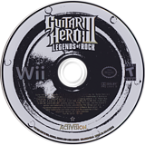 Guitar Hero III: Legends of Rock Wii disc (RGHE52)
