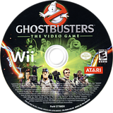 Ghostbusters: The Video Game Wii disc (RGQE70)