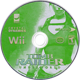 Tomb Raider: Underworld Wii disc (RH8E4F)