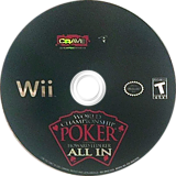 World Championship Poker Featuring Howard Lederer: All-In Wii disc (RHLE4Z)