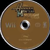 Hannah Montana: Spotlight World Tour Wii disc (RHQE4Q)