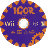 Igor the Game Wii disc (RIBES5)