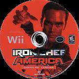Iron Chef America: Supreme Cuisine Wii disc (RICENR)