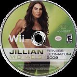 Jillian Michaels' Fitness Ultimatum 2009 Wii disc (RJFE5G)