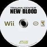 Trauma Center: New Blood Wii disc (RK2EEB)