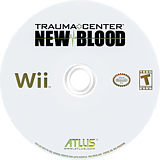 Trauma Center: New Blood Undub CUSTOM disc (RK2EUD)