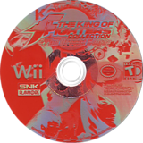 The King of Fighters Collection: The Orochi Saga Wii disc (RKFEH4)