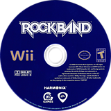 Rock Band Wii disc (RKXE69)