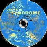 Alien Syndrome Wii disc (RLSE8P)