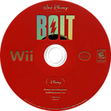 Disney's Bolt Wii disc (RLUE4Q)