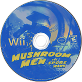 Mushroom Men: The Spore Wars Wii disc (RM9EGM)