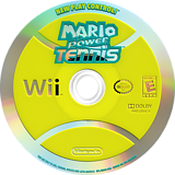 Mario Power Tennis Wii disc (RMAE01)