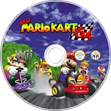 New Mario Kart Wii 64 CUSTOM disc (RMCEG5)