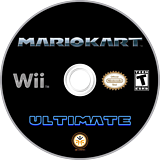 Mario Kart Wii Ultimate CUSTOM disc (RMCEW6)
