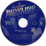 AMF Bowling Pinbusters! Wii disc (RMFE68)
