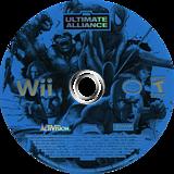 Marvel: Ultimate Alliance Wii disc (RMUE52)