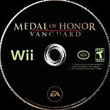 Medal of Honor: Vanguard Wii disc (RMVE69)