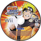 Naruto Shippuden: Clash of Ninja Revolution 3 Wii disc (RNEEDA)