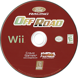 Ford Racing Off Road Wii disc (RO2E7N)