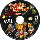 Little King's Story Wii disc (RO3EXJ)