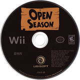 Open Season Wii disc (ROPE41)