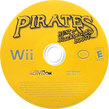Pirates: Hunt for Blackbeard's Booty Wii disc (RP7E52)