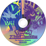 Pokémon Battle Revolution Wii disc (RPBE01)