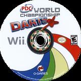 PDC World Championship Darts 2008 Wii disc (RPDEGN)