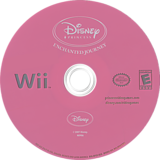 Disney Princess: Enchanted Journey Wii disc (RPSE4Q)