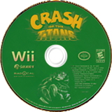 Crash of the Titans Wii disc (RQJE7D)