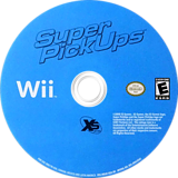Super PickUps Wii disc (RQUEFS)