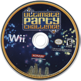Ultimate Party Challenge Wii disc (RR3EA4)