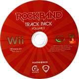 Rock Band Track Pack: Vol. 2 Wii disc (RRDE69)