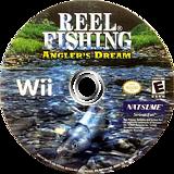 Reel Fishing: Angler's Dream Wii disc (RRFEE9)