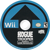 Rogue Trooper: Quartz Zone Massacre Wii disc (RRYEHG)